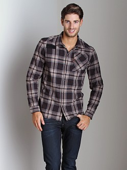 G-Star Aero Takeoff Check Shirt Black
