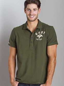 G-Star Cutlass Polo Shirt Green