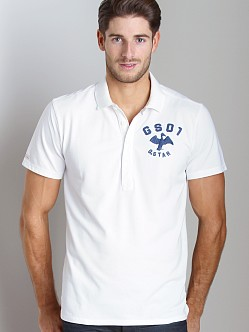 G-Star Cutlass Polo Shirt White