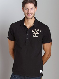 G-Star Cutlass Polo Shirt Black
