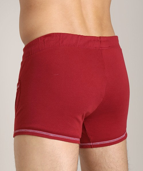 Go Softwear 100% Cotton Sport Short Cardinal