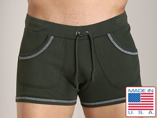 Go Softwear 100% Cotton Sport Short Olive