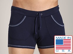 Go Softwear 100% Cotton Sport Short Navy