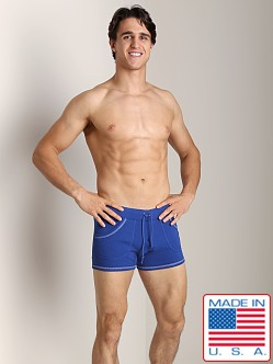 Go Softwear 100% Cotton Sport Short Cadet Blue