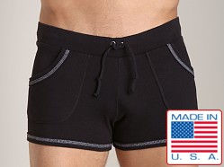 Go Softwear 100% Cotton Sport Short Black