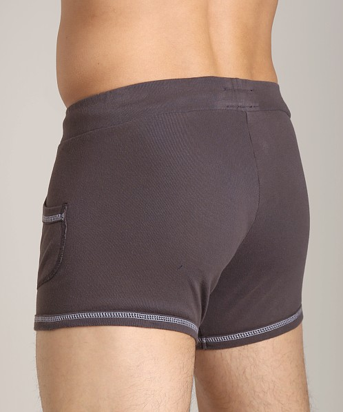 Go Softwear 100% Cotton Sport Short Charcoal