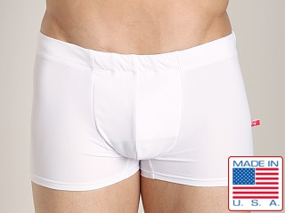 Go Softwear Enhancing Square Cut Swim Trunk White