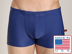 Go Softwear Enhancing Square Cut Swim Trunk Navy