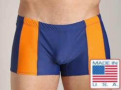 Go Softwear Eros C-Ring Swim Trunk Navy/Orange