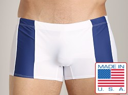 Go Softwear Eros C-Ring Swim Trunk White/Navy