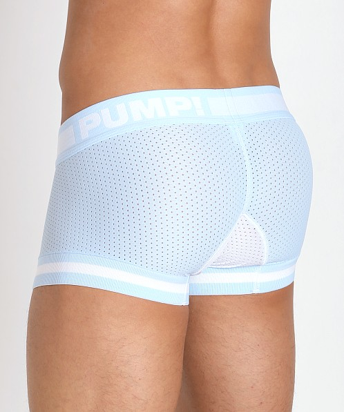 Pump! Frost Touchdown Mesh Trunk Ice Blue/White