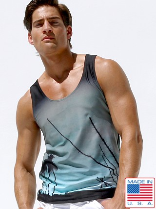 Rufskin Desert Panoramic Print Tank Top