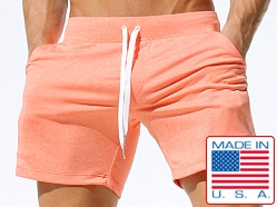 Rufskin Calvin Sport Lounge Shorts Heather Orange