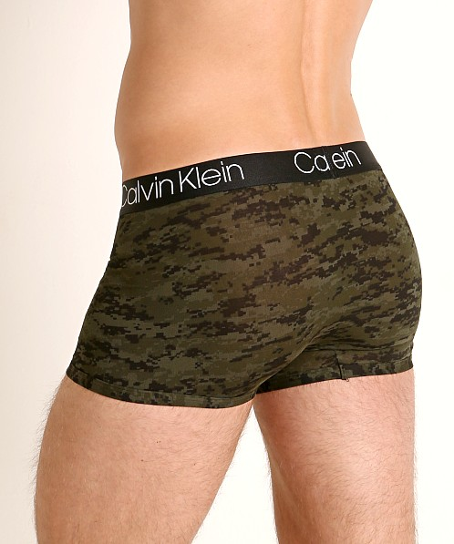 Calvin Klein Ultra Soft Modal Trunk Green Camo