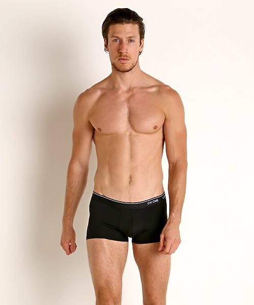 Calvin Klein CK One Micro 3-Pack Low Rise Trunk Black