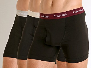 Calvin Klein Cotton Stretch Boxer Brief 3-Pack Black Multi