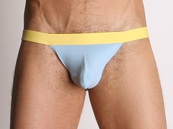 Tulio Power Pouch Slinky Jockstrap Baby Blue/Yellow