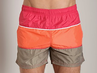 Hugo Boss Butterflyfish Swim Shorts Orange/Taupe