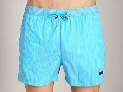 Hugo Boss Salmon Swim Shorts Turquoise