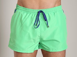 Hugo Boss Mooneye Swim Shorts Green