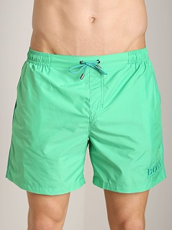 Hugo Boss Barracuda Swim Shorts Green