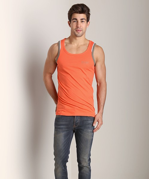 Hugo Boss Beach Tank Top Orange