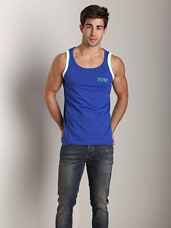 Hugo Boss Beach Tank Top Royal