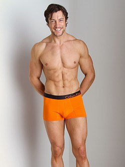Calvin Klein Bold Cotton Trunk Tangelo