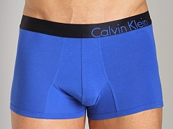 Calvin Klein Bold Cotton Trunk Blue Bird