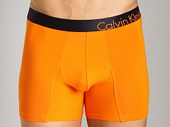 Calvin Klein Bold Cotton Boxer Brief Tangelo