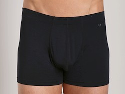 Naked Micromodal Traditional Boxer Black