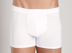 Naked Micromodal Traditional Boxer White