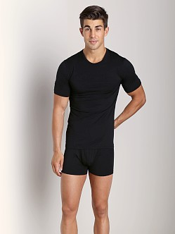Naked Micromodal Crew Neck Undershirt Black
