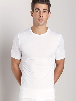 Naked Micromodal Crew Neck Undershirt White