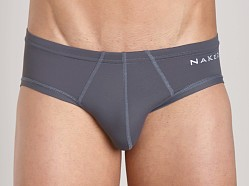 Naked Microfiber Brief Charcoal