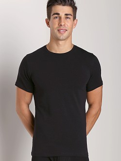 Naked Cotton Classic Crew Neck T-Shirt Black