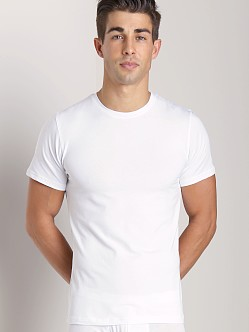 Naked Cotton Classic Crew Neck T-Shirt White