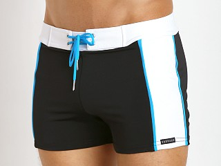 You may also like: Sauvage Sports Mesh Overlay Swim Trunk Black/Turquoise