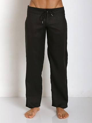 You may also like: Sauvage 100% Laundered Roma Linen Tropical Pant Black