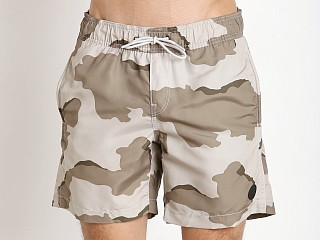 G-Star Dirik Camo Swim Shorts Khaki