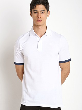 G-Star Pitro Contrast Polo Shirt White
