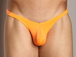 Cover Male Pouch Enhancing Brazilian Bikini Orange