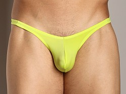 Cover Male Pouch Enhancing Brazilian Bikini Lime