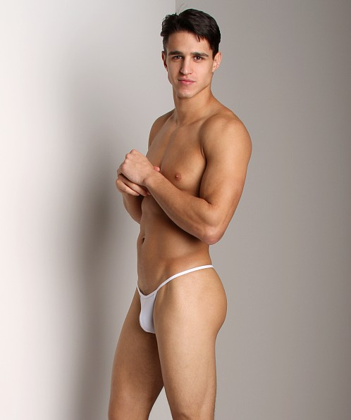 Cover Male String Bikini White