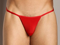 Cover Male String Bikini Red