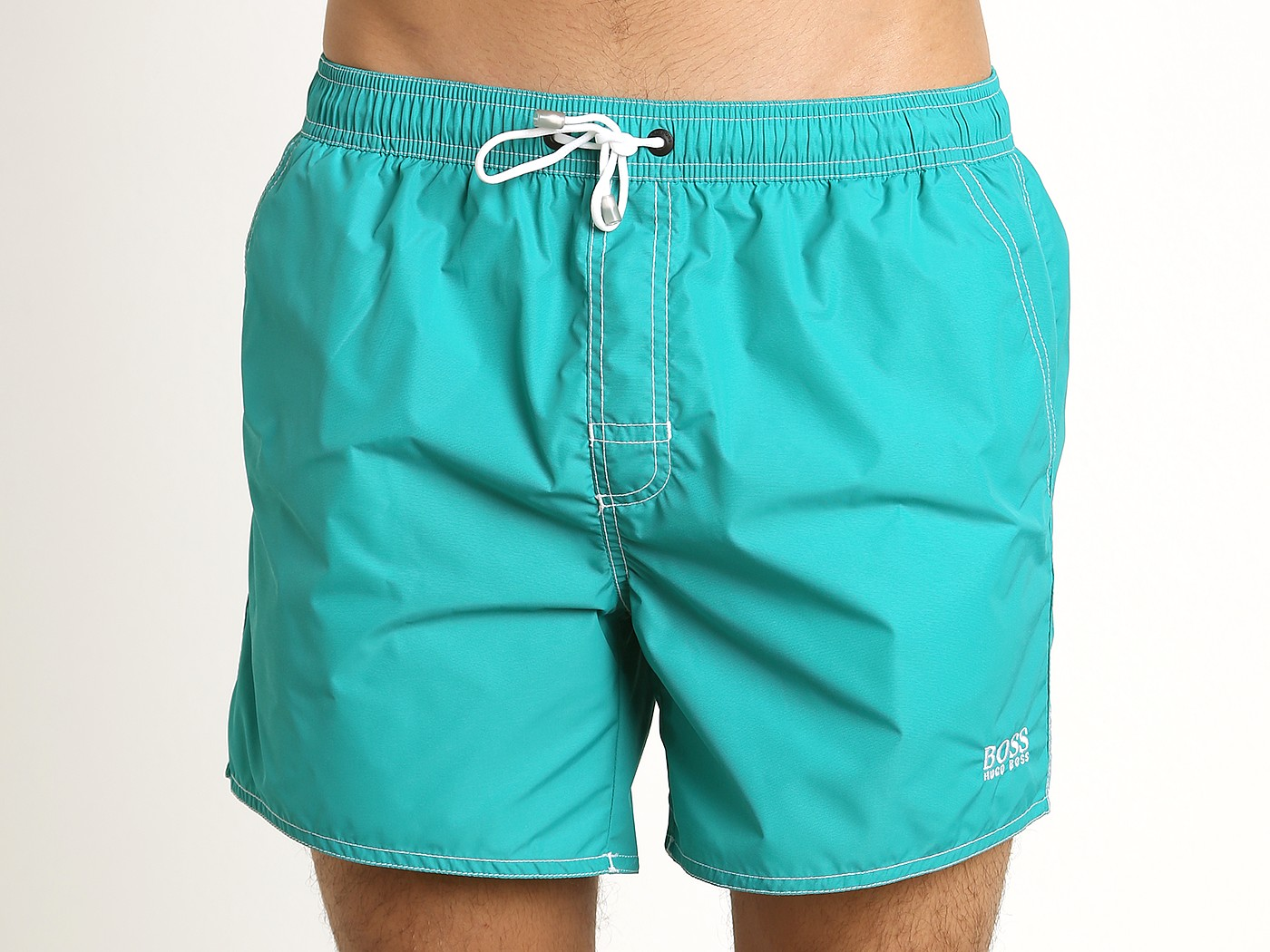 0ac7e9dd98 Hugo Boss Lobster Swim Shorts Teal 50332322-448 at International Jock