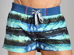 Diesel Coralrif Swim Shorts Blue
