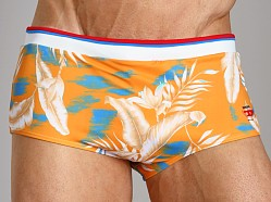 Diesel Milton Printed Swim Trunk Orange