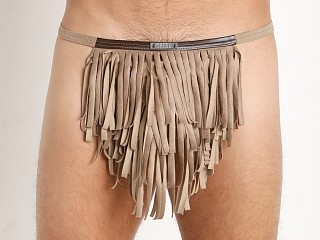 Gregg Homme Wild West Faux Suede Thong Sand