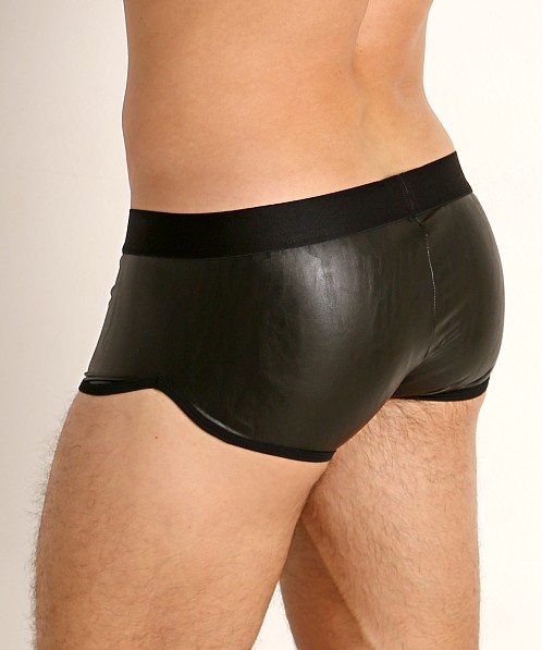 TOF Paris Fetish Vegan Leather Boxer Black